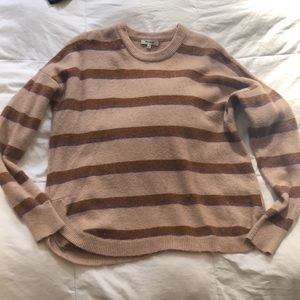 Madewell striped sweater in coziest yarn